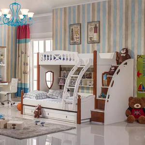 cheap wood kids bunk bed designs exporters