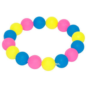 Customized Silicone Bead Bracelet