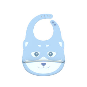 low price Wholesale Custom Foldable Waterproof silicone baby bib OEM