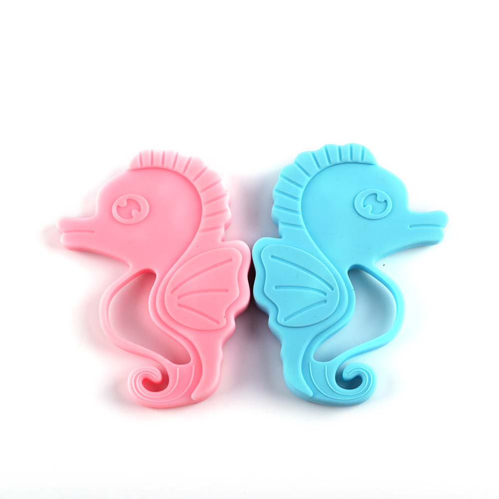 Silicone baby teething toys silicone infant animal teether