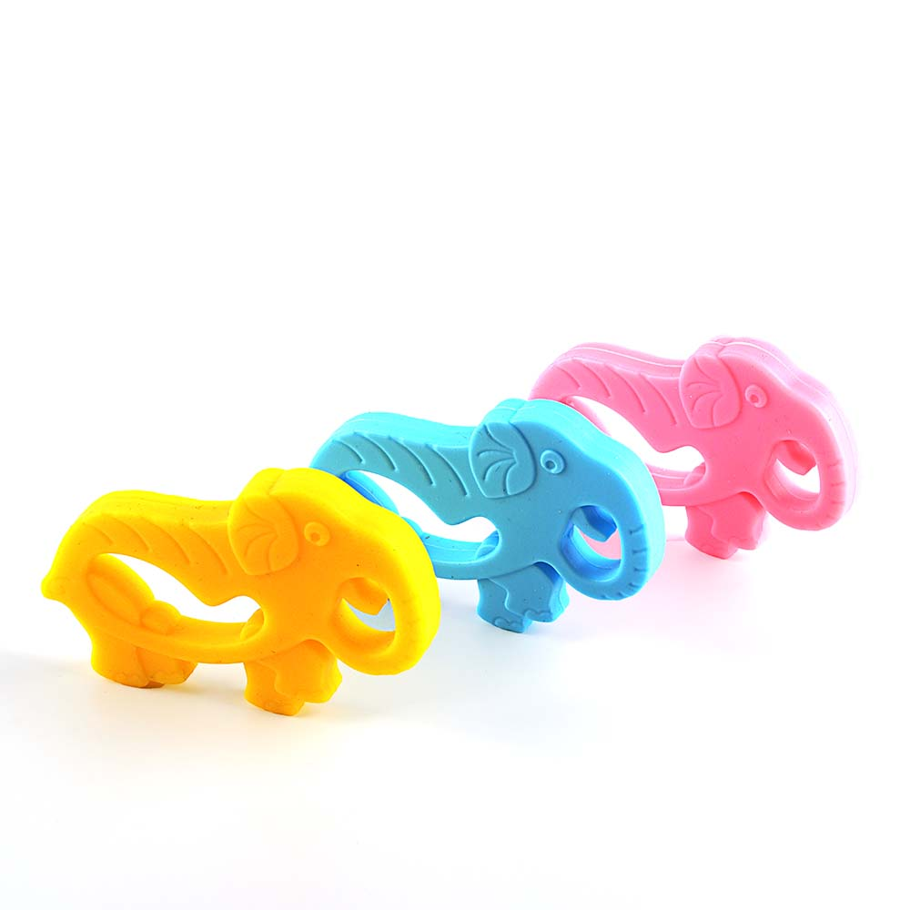 Silicone baby teething toys