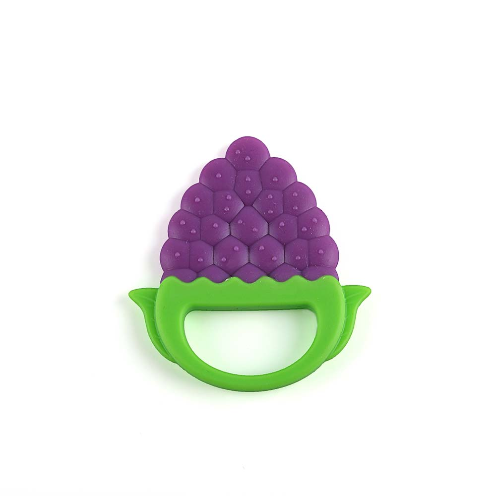 Silicone baby teething toys infant silicone fruit shape teether