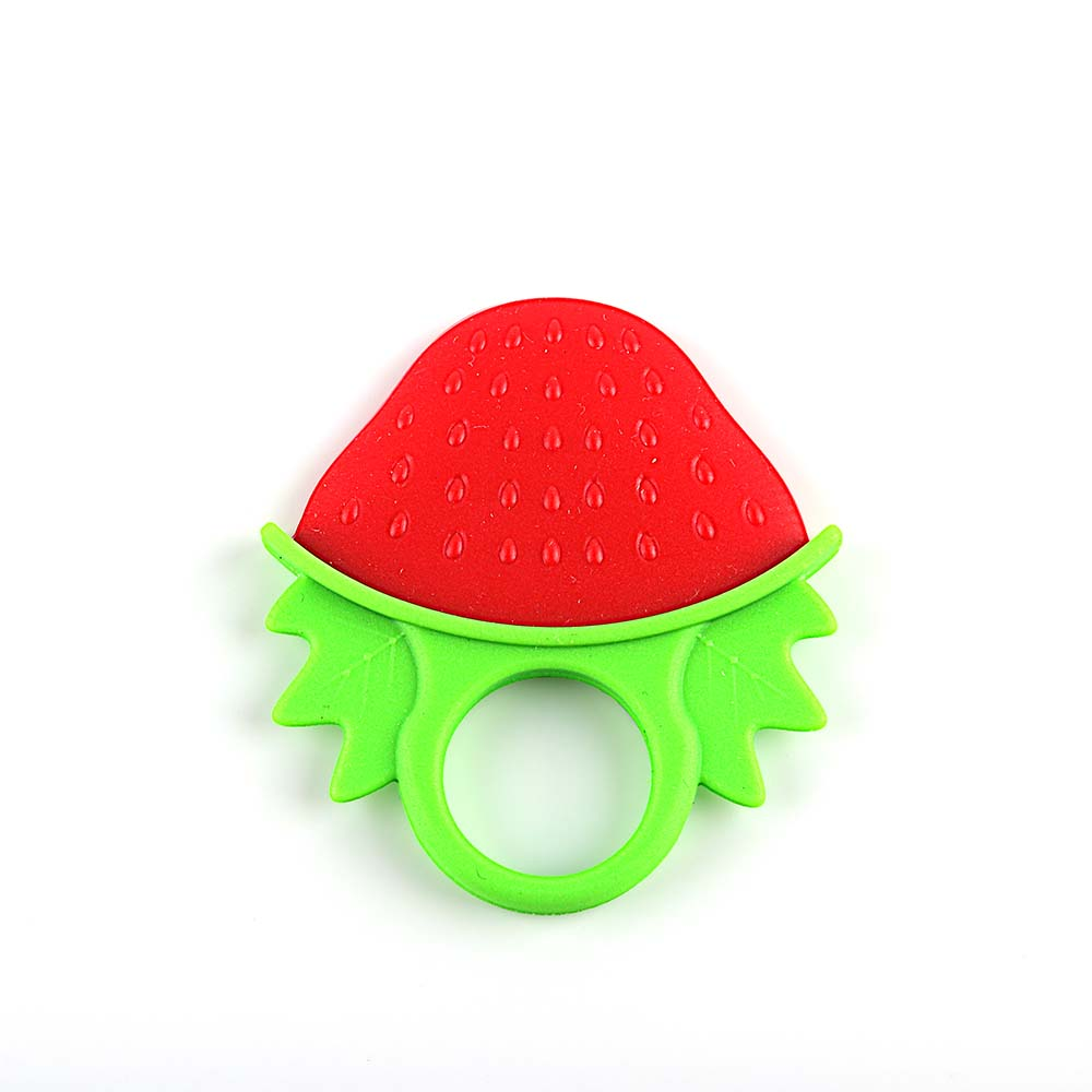 Silicone baby teething toys baby silicone fruit teething toys