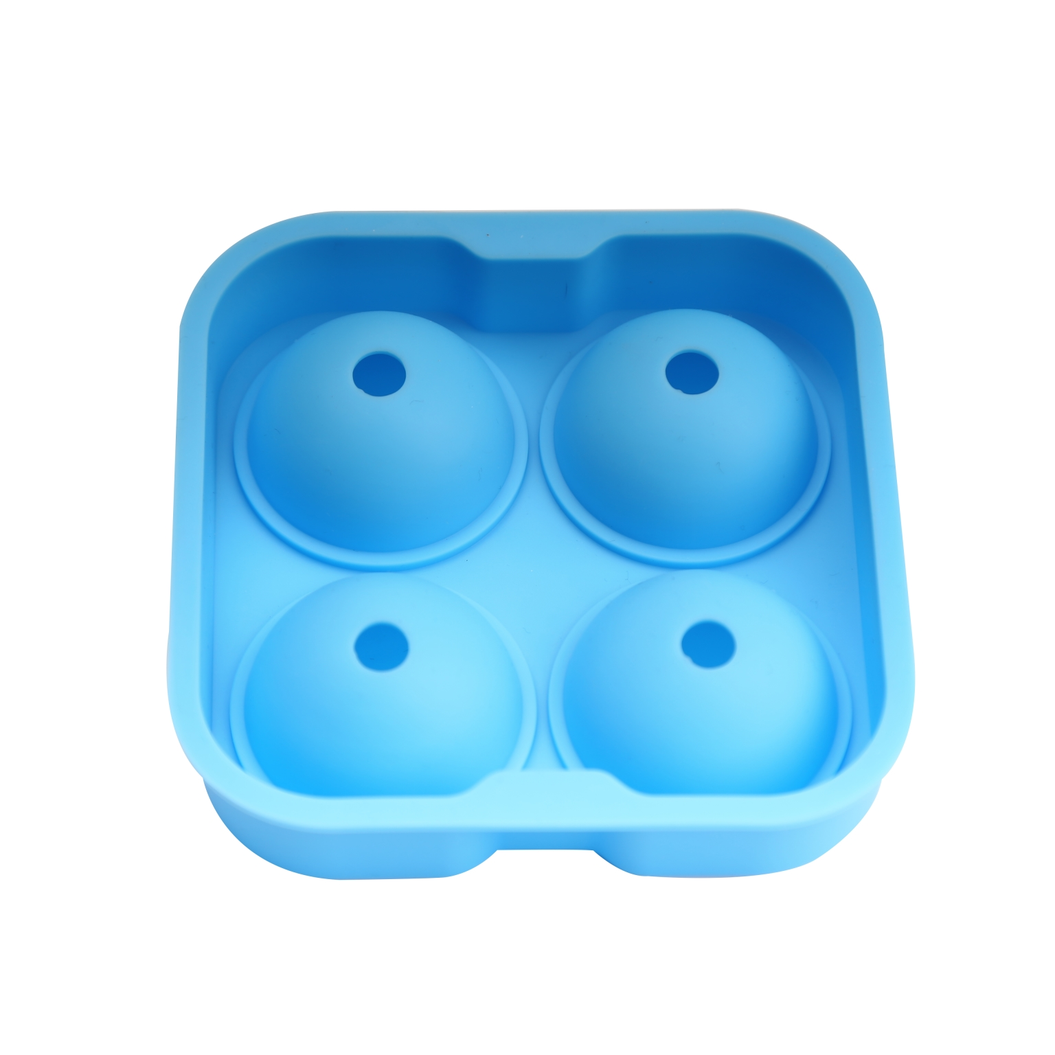 Customized high quality silicone ice ball mold with 4 ball