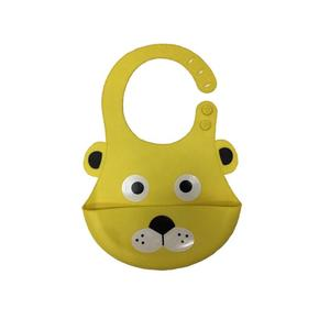 high quality wholesale OEM animal silicone baby bib manufacturer