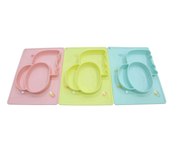 Wholesale silicone placemat plates which easy to clean