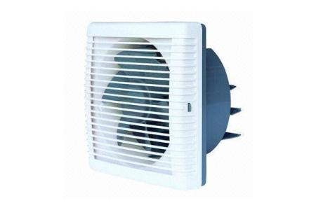 Plastic electric fan