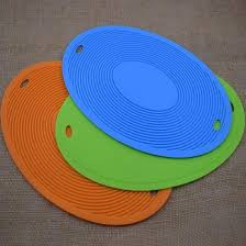 Silicone rubber placemat