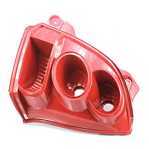plastic injection molding car lamp housing auto parts