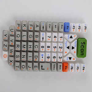 calculator silicone rubber keyboard shell silicone rubber products