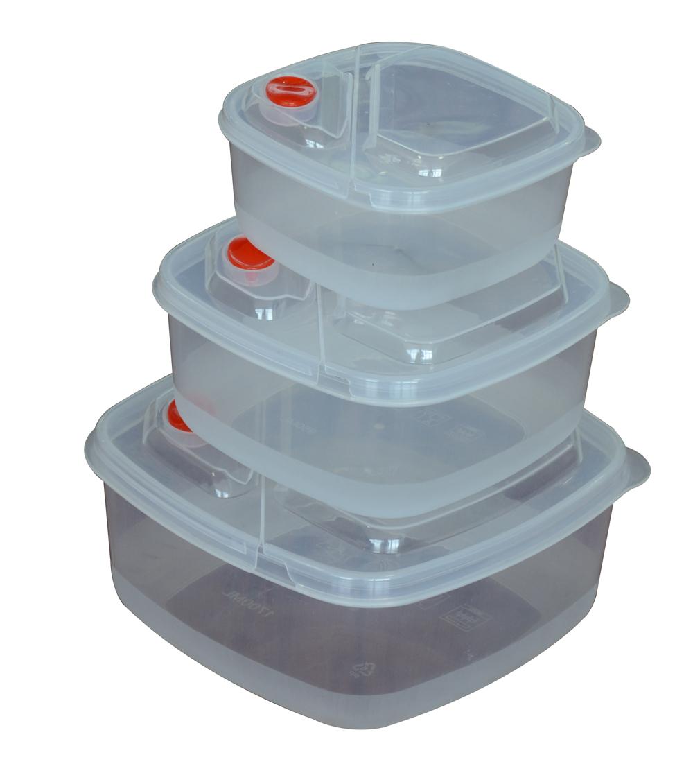 Boîte à lunch en plastique, Boîte en plastique pour restauration rapide