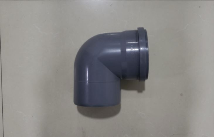 PP Elbow 90 hot waste discharge pipe fitting mould