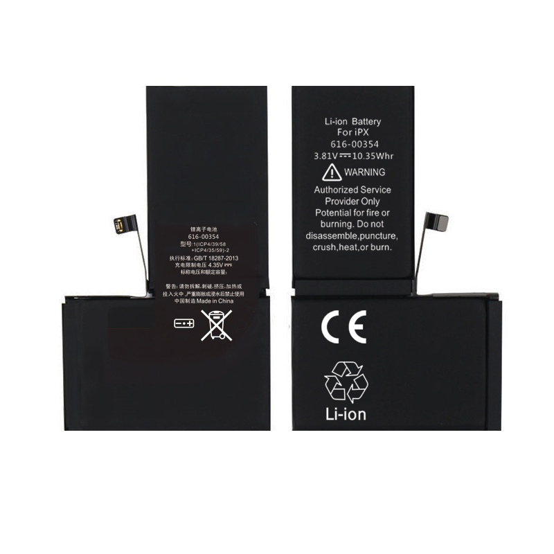 Batterie d'origine 2716mAh pour iPhone X