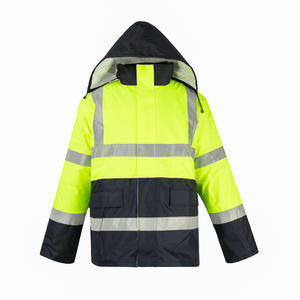 Customized polyester Cotton-padded Waterproof Coat manufacturer