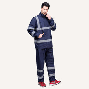 7149 Safety Waterproof Suit Rain Jackets For Men