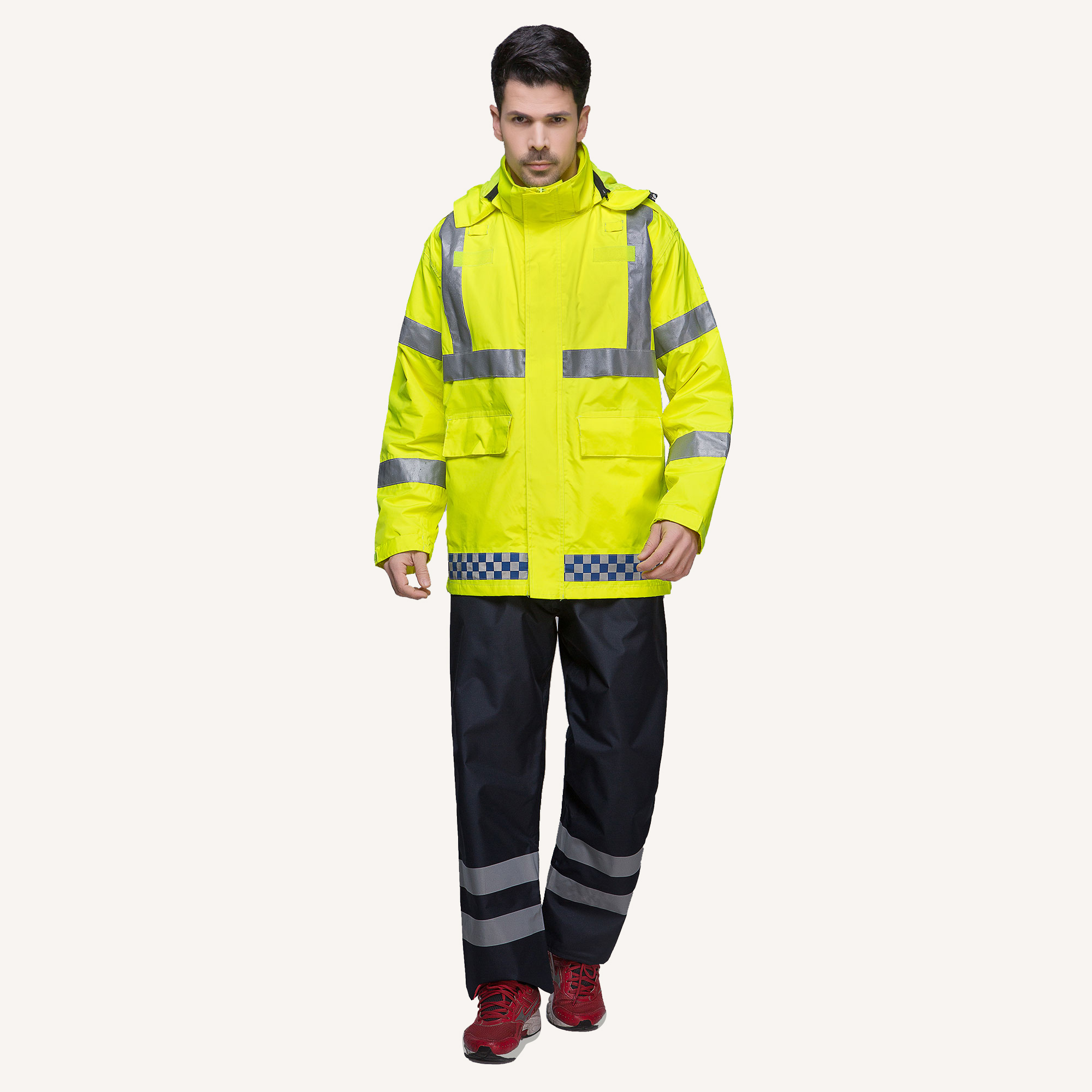 6999  Waterproof jacket pants set for men