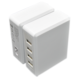 4 USB 5V 6.8A Desktop Charger