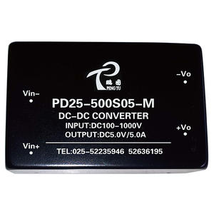 best power supply manufacturers PD-M Series 5-25W dc/ dc power supply