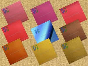 Metal felt paper-also known as metal feel paper, metal texture paper, metal leather paper, metal velvet paper.