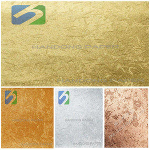 Wholesale PVC Glitter Paper/Color specialty wrapping paper PVC leatherette paper from China