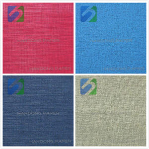 Hot sales PVC printing paper/ PVC covering paper manufacturer