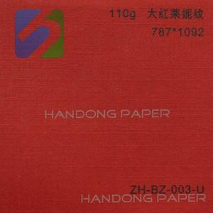 BV Certification main product colour leather embossed paper/Embossed Colour Texture Paper