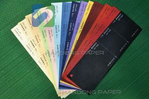 Coloured embossed paper/Color embossed paper and cardboard type special paper