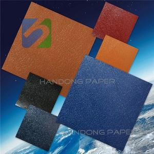 PVC coated paper for bookbinding and covering /vintage wrapping paper