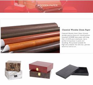wooden grain paper for packing