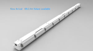 8ft/2400mm trip proof light  2.4m water proof light 8ft wapor tight light IP66 tri proof light vapor tight light