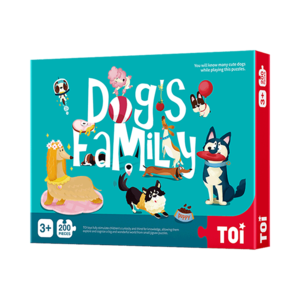 200Pieces  Dog's family Children Toy Jigsaw Puzzles