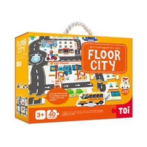 TOI Giant Floor Puzzle Floor City Paper Educational Jigsaw Puzzle For Kids