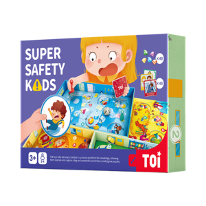 TOI Super Safety Kids Board Games Educational Toy For Kids