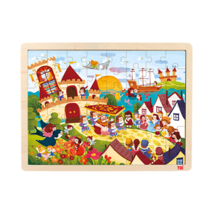 High Quality Anderson's 48pcs Wooden Jigsaw Puzzle Brands Manufacturers
