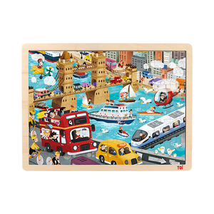 buy china 100pcs Wooden Jigsaw Puzzle manufacturers