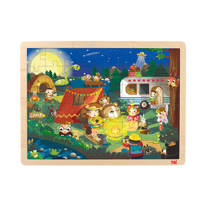 China high quality wooden jigsaw puzzle brands factory