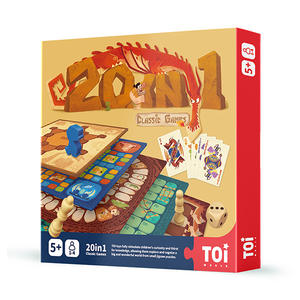 TOI  20in1 Classic Chess Games Educational Game For Kids