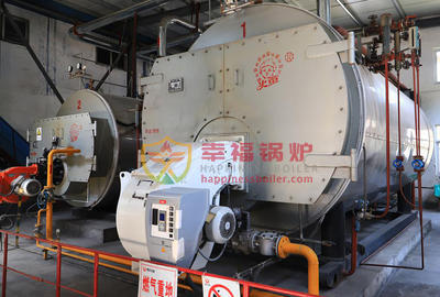 Nine Li Mountain Coal mine ultra-low-nitrogen industrial gas boiler