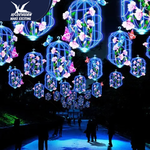 Modern Decorative Outdoor Chinese Lantern Festival 2019 Show