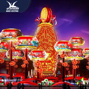 Remarkable Chinese Lantern Festival Light With Colorful Theme