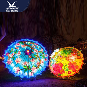 Outdoor Silk Lantern Festival Decoration Party Supplies