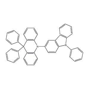9,9-diphenyl-10-(9-phenyl-9H-carbazol-3-yl)-9,10-dihydroacridine-1333316-01-0