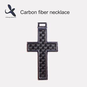 OEM carbon fiber necklace manufacturer