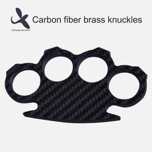 High quality Custom OEM carbon fiber brass knuckles