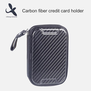 High quality Custom carbon fiber credit card holder manufacturer