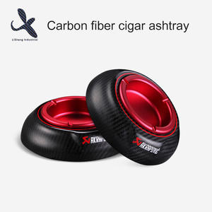 High quality Carbon fiber cigar ashtray price manufacturer