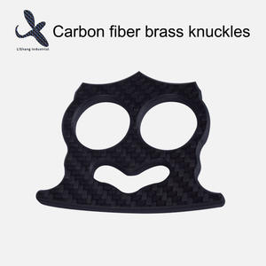 OEM Custom High quality carbon fiber brass knuckles