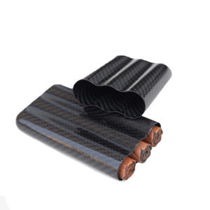 Custom High quality Three carbon fiber cigar tube factory