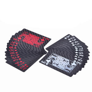 Carbon Fiber Poker Cards