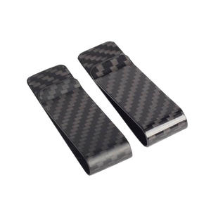 High quality Custom carbon fiber money clip factory